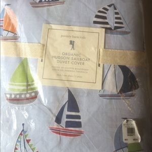 Pottery Barn New Twin Duvet Cover